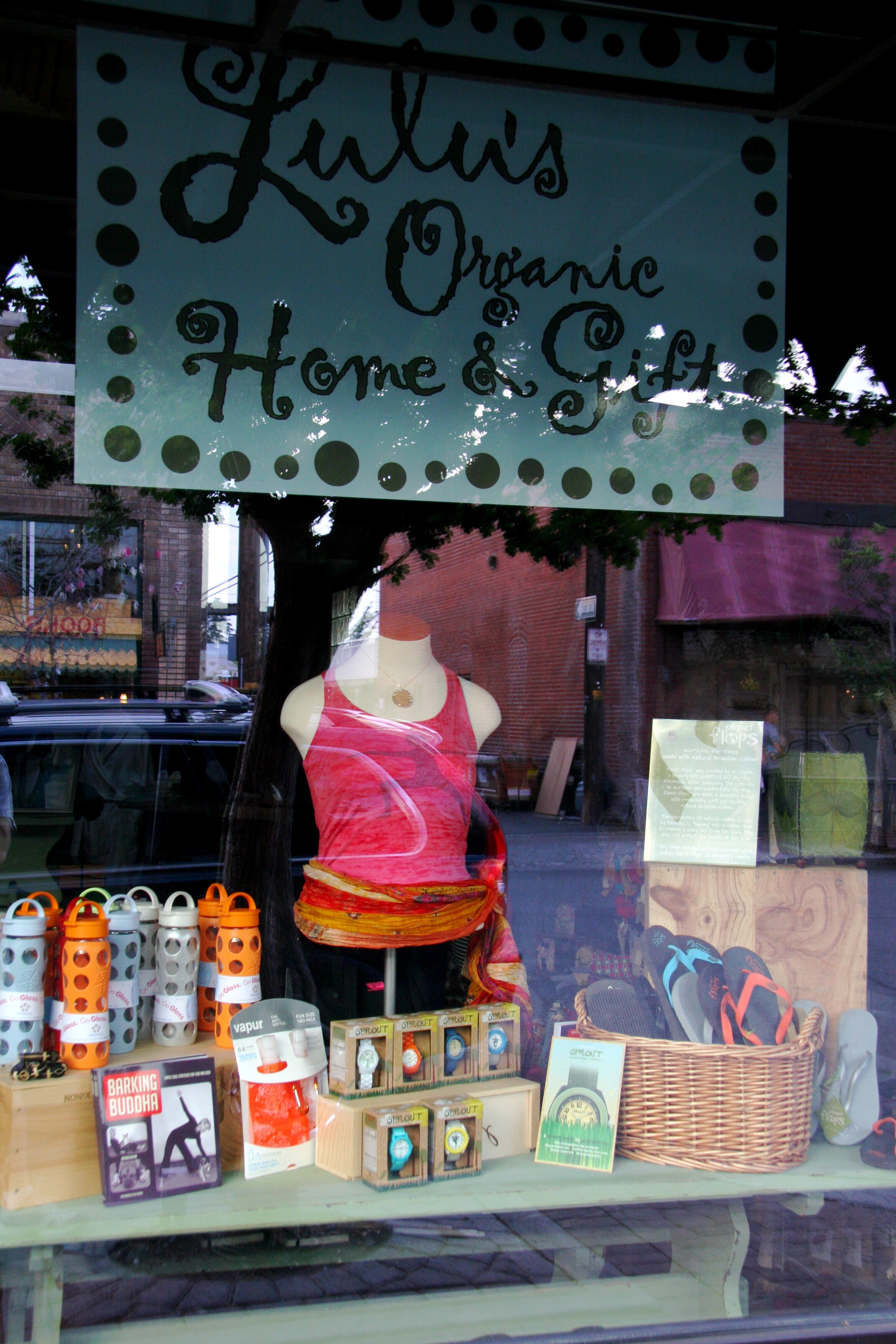 """Think Positive Apparel In """"Lulu's in Bend"""" of Bend, OR"""