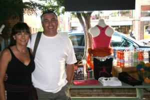 The owners of Lulu's Boutique: Peter and Patti