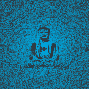 Part of our Buddha design that is made from quotations from Buddha.