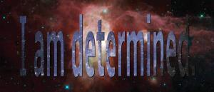 I am determined in a space image