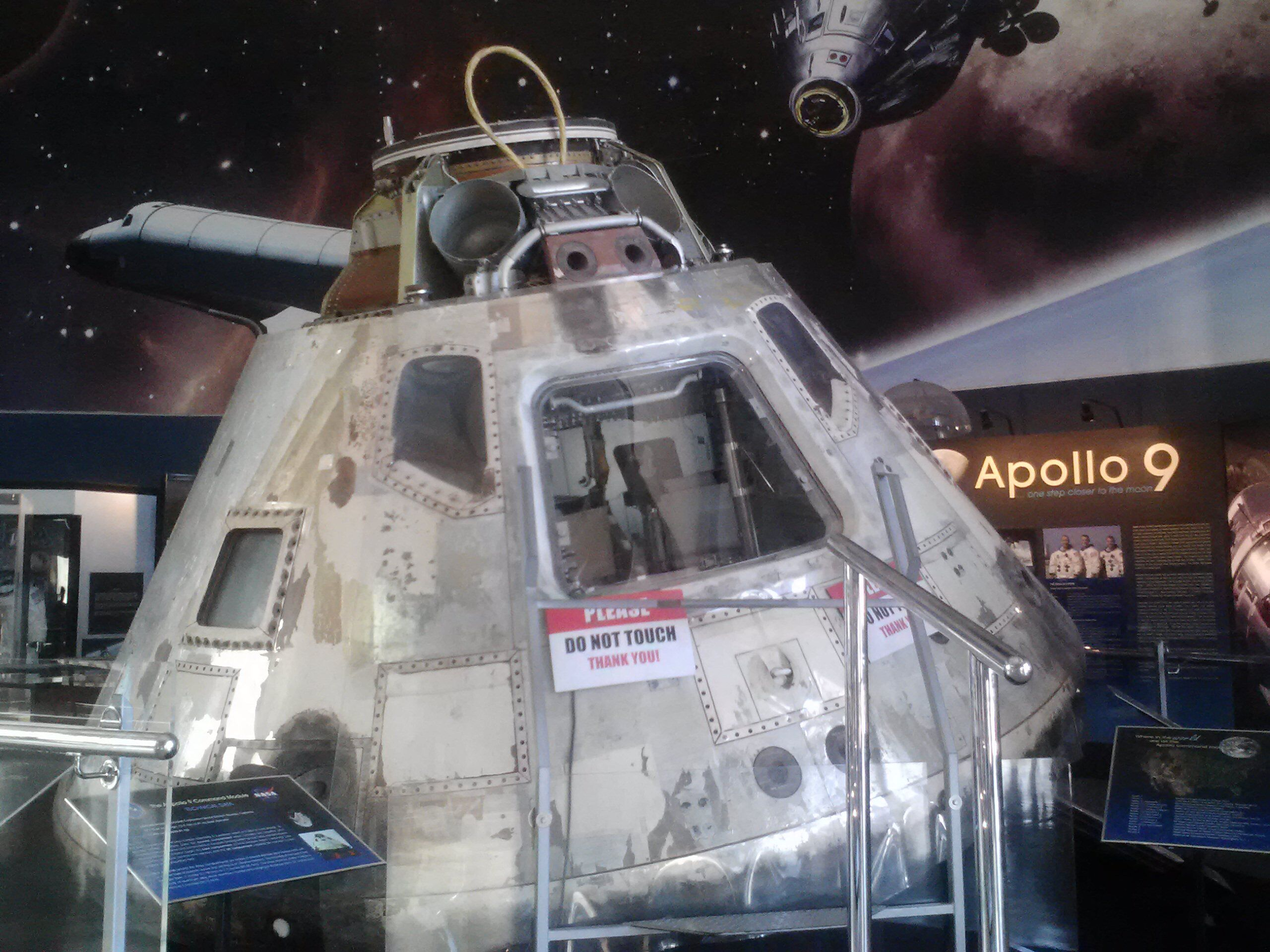Human Achievement: The Apollo 9 Command Module Gumdrop (1969-018A