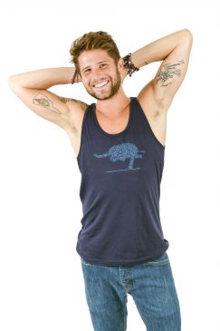 elephant_warrior_3_yoga_pose-M_triblend_tank-athletic_blue-1-Think_Positive_Apparel.jpg