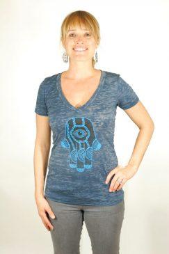 hamsa-burnout_deep_v-neck_t-shirt-indigo-1-Think_Positive_Apparel.jpg