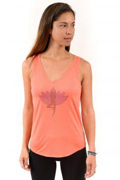 yoga_tree_pose_lotus_flower-ladies_v-neck_flowy_tank_top_coral-1-Think_Positive_Apparel-006.jpg